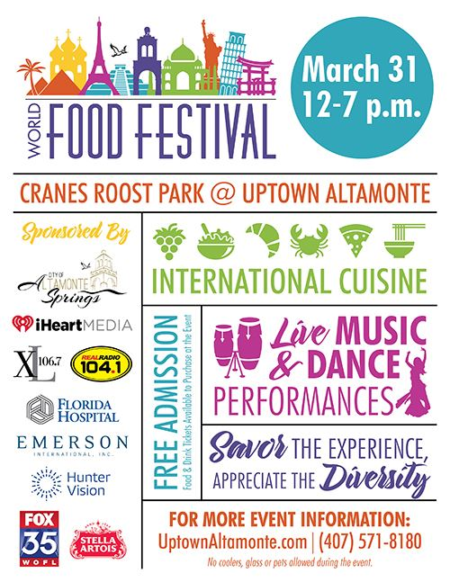 World Food Festival Flyer