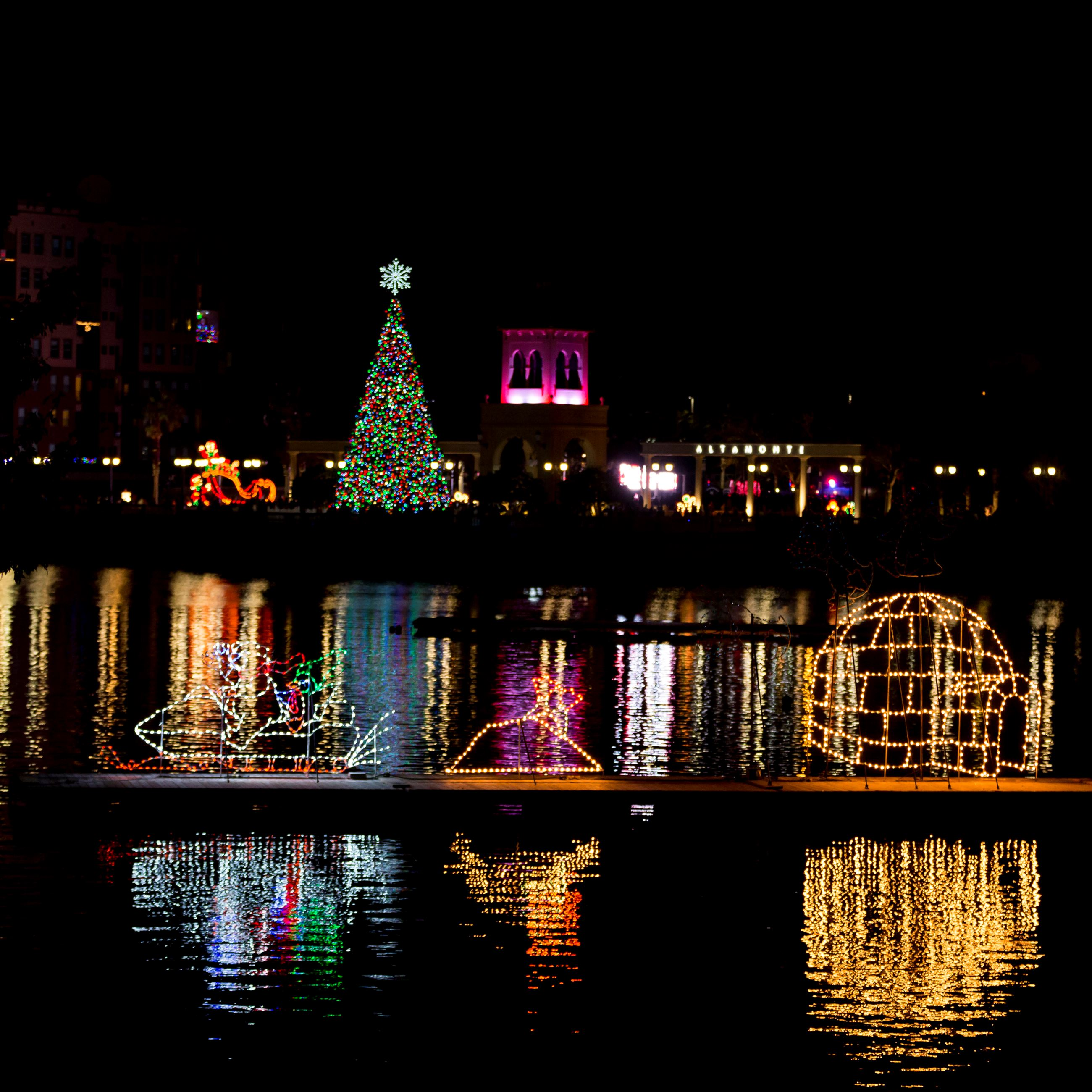 Holiday Lights at Cranes Roost Park
