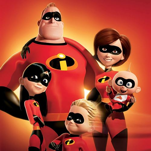 Incredibles 2 Movie Characters