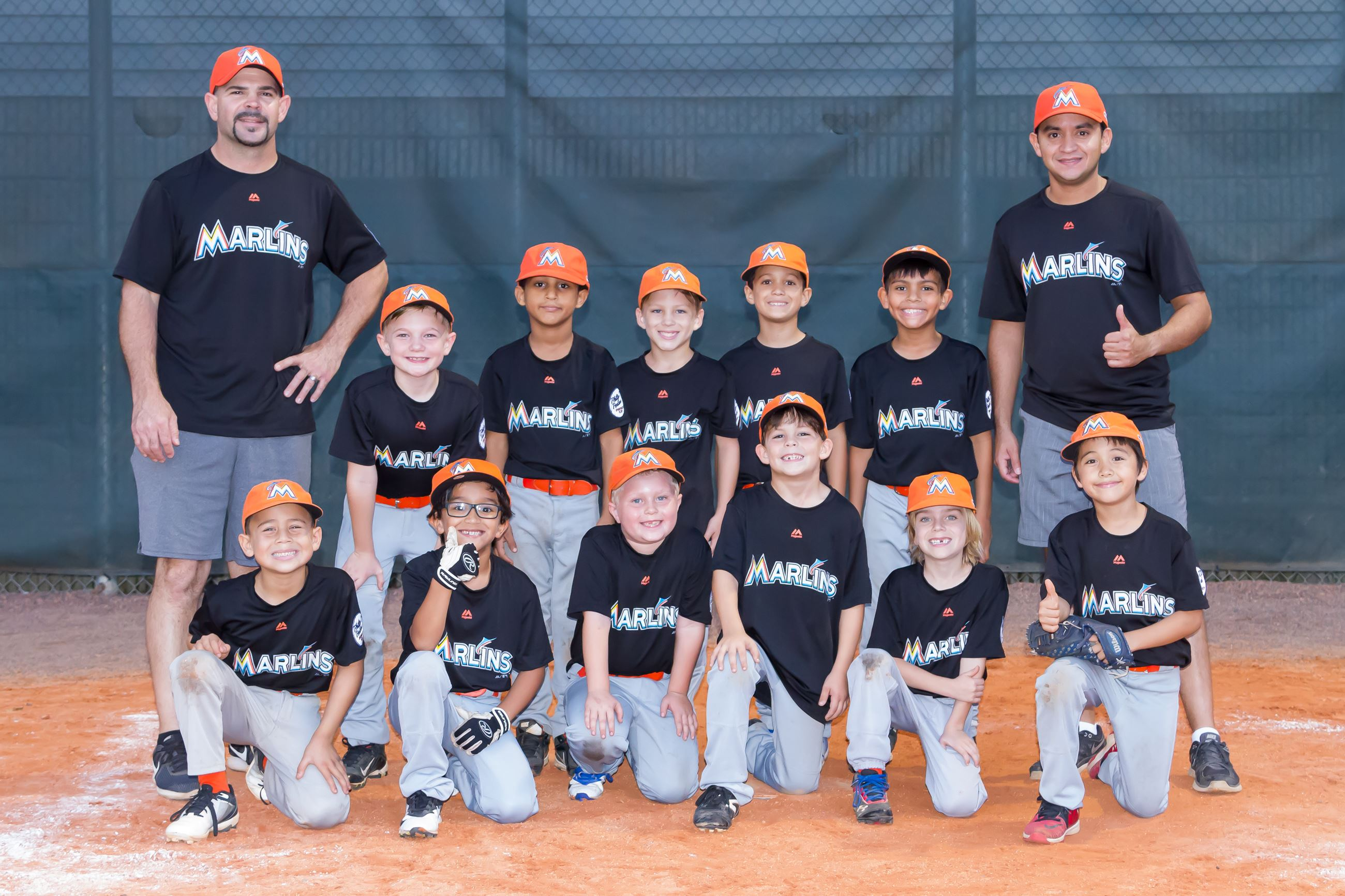 Marlins Baseball Team Photo