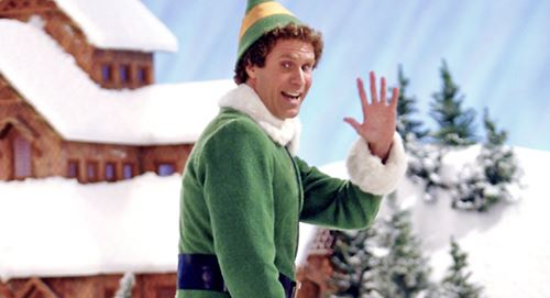 Buddy the Elf from Elf Movie