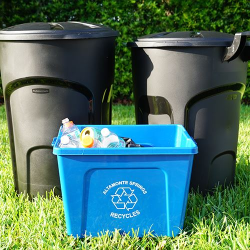 Trash Cans and Recycle Bin