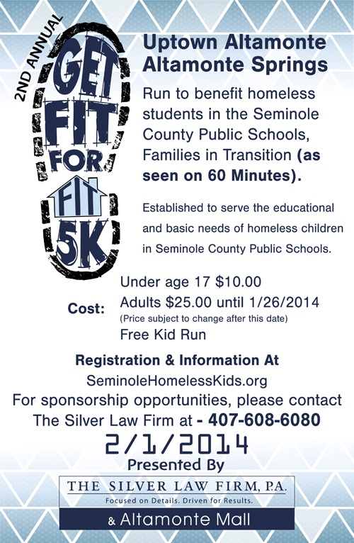 Get Fit for FIT 5K Poster