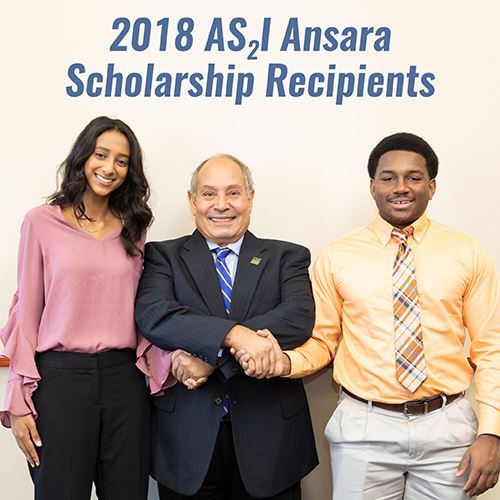 2018 Ansara Scholarship Winners Photo