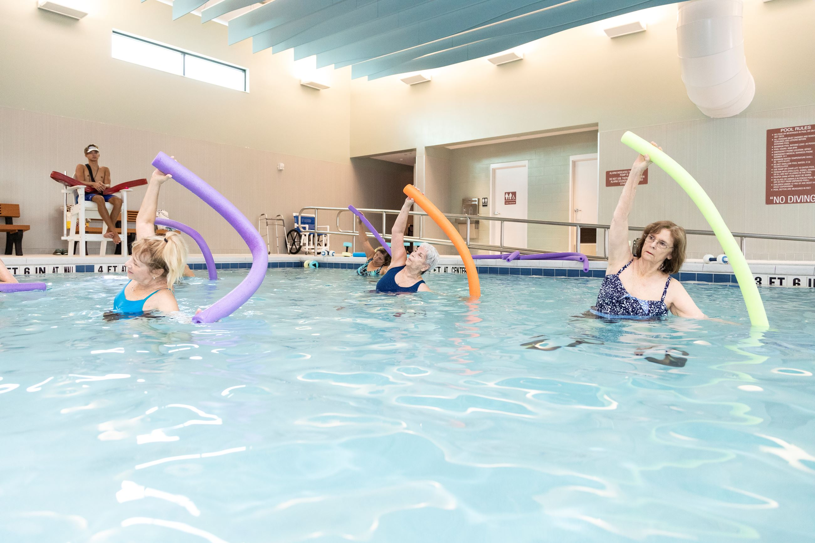 Therapeutic Pool Exercise Class