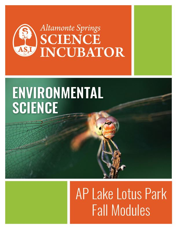 Altamonte Springs Science Incubator Advanced Placement Lake Lotus Workbook