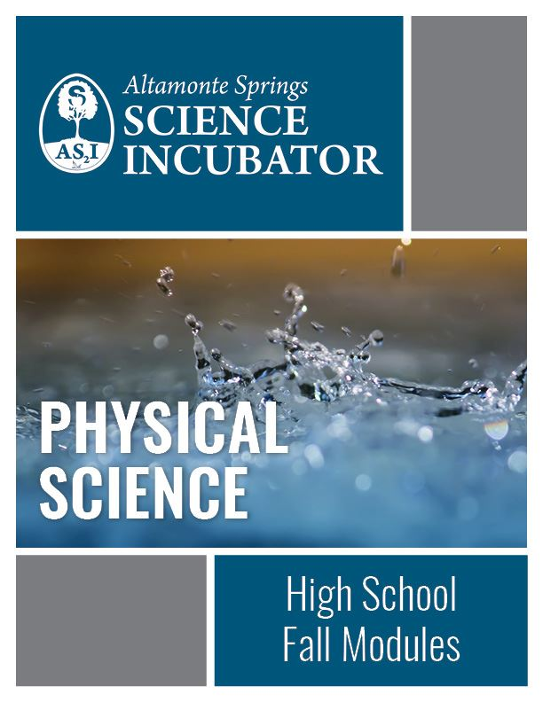 Altamonte Springs Science Incubator High School Physical Science Workbook