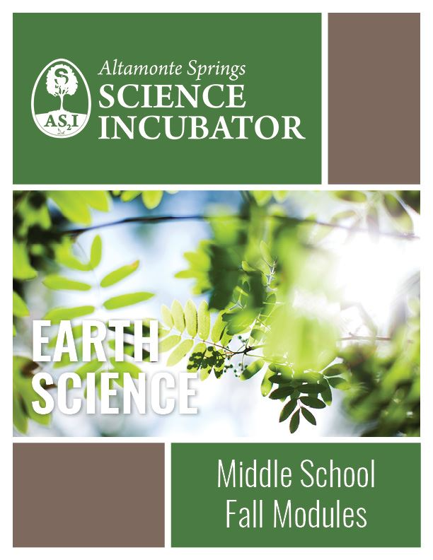 Altamonte Springs Science Incubator Middle School Earth Science Workbook